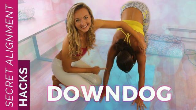 Yoga Secrets: Downdog