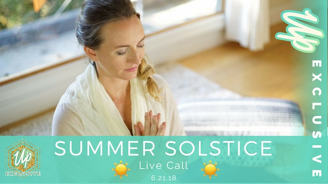 [Member Only] Live Call: Summer Solstice
