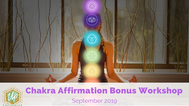 Chakra Affirmation Bonus Workshop