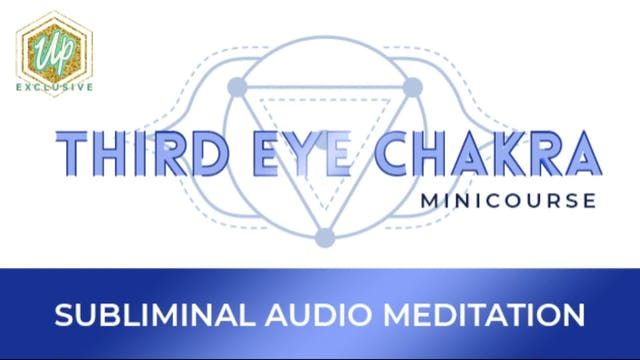 [NEW] Third Eye Audio Affirmations
