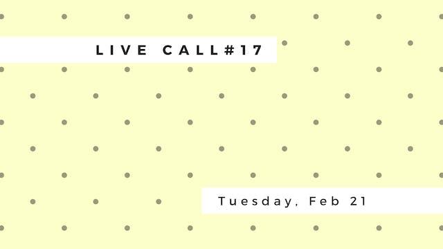 Live Call #17: B.3.5, B.3.6 | Setu Ba...