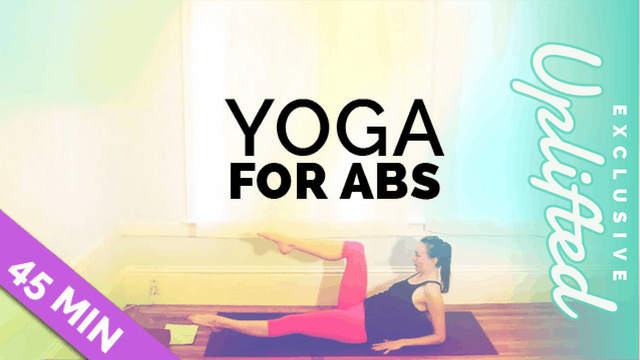 [Members Only] Yoga for Abs - 20 & 45 Minute Options