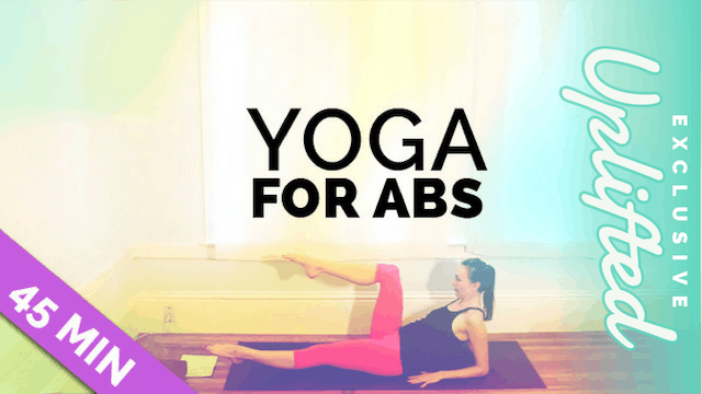 [Members Only] Yoga for Abs - 20 & 45...