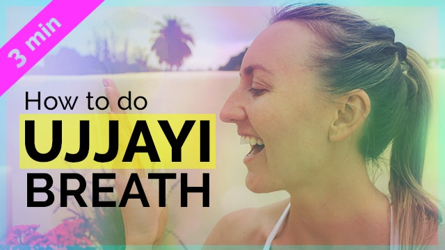 How to Ujjayi Breath Tutorial