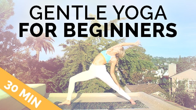 Gentle Yoga for Beginners (30-Min) - Therapeutic, No Pressure on Wrists