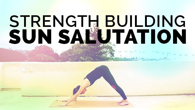 Sun Salutations for Beginners: Surya Namaskar & Chaturanga Dandasana Modification for Core Strength