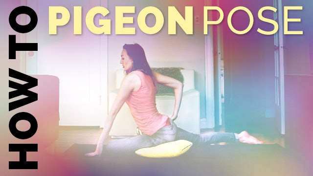 How To Do Pigeon Pose In Yoga + Avoid Knee Pain (Eka Pada Raja Kapotasana Hip Stretch)