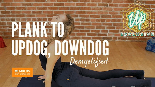 [Members Only] Demystifying Plank, Updog, Downdog
