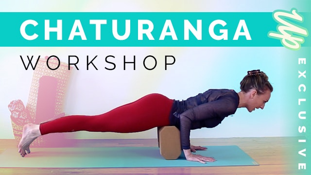[Member Only] Chaturanga Workshop (15...