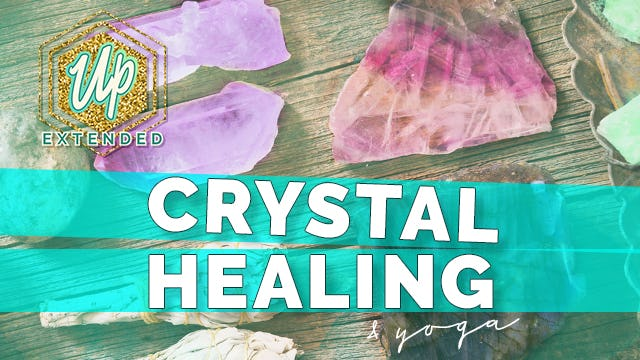 [NEW] Yoga + Crystal Healing (45-min)