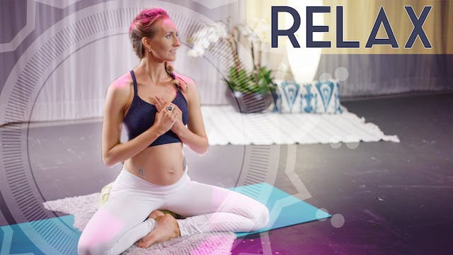 Relax into Pregnancy (25 min) - Low Intensity | Kundalini Meditation