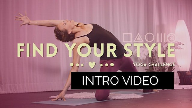 Find Your Style - September Intro