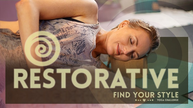 Restorative Yoga for Stress - Great for Beginners (20-min)