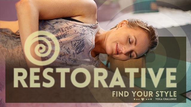 Restorative Yoga for Stress - Great f...