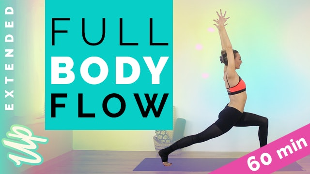 [Member-Only] Full Body Flow Body Flow (60-min)