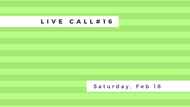 Live Call #16: Janu Sirsana | Parivritta Janu Sirsana | Parivritta Utkatasana | Parivritta Parsvakonoasana