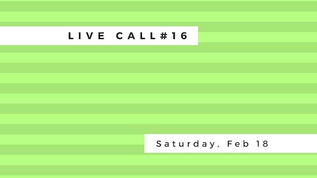 Live Call #16: Janu Sirsana | Parivri...