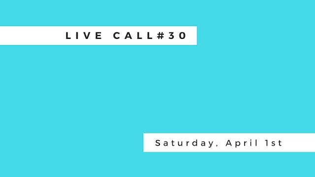 Live Call #30 | B.6.3 | B.6.4 | B.6.5