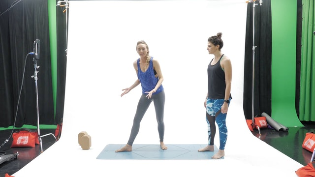 E.12.5 Uplifted Yoga Hands On Adjustments: Video 3