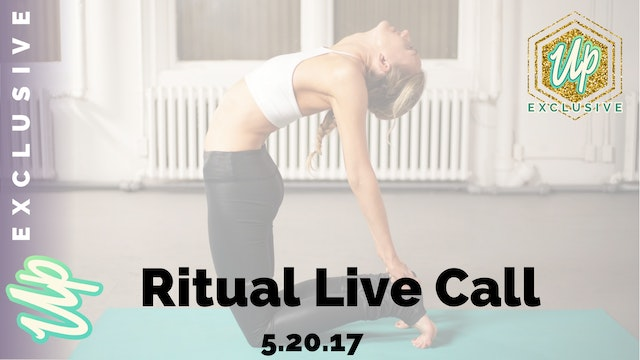 Uplifted Member Only May Ritual Live ...