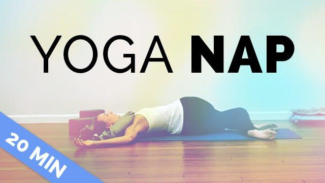 """Yoga Nap Yin """"Blissapline"""" (20 Min)"""