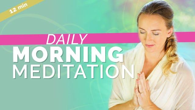 [NEW] Alternate Nostril Morning Meditation (11min)