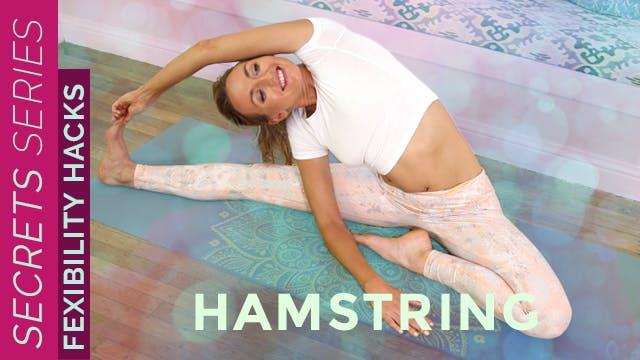 Yoga Secrets: Hamstring Flexibility H...
