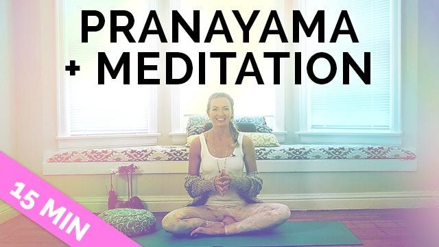 How to do Alternate Nostril Breathing: Pranayama + Meditation (15-Min)