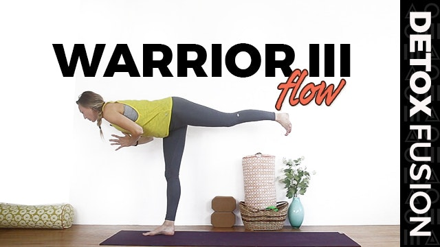 Day 13 - Balance Flow for Warrior III...