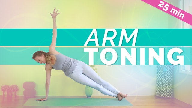 Arm & Core Strengthening Yoga (25-min)