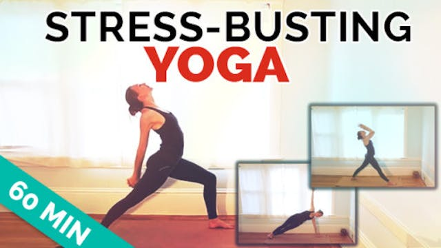 Yoga for Stress Workout: 60-Min Inter...
