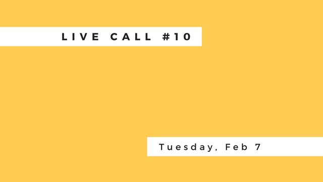 Live Call #10: B.2.6 | B.3.1 | Trikonasana