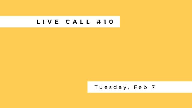 Live Call #10: B.2.6 | B.3.1 | Trikon...