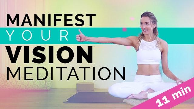 Manifest Your Vision, Kundalini Meditation - 11 Minutes