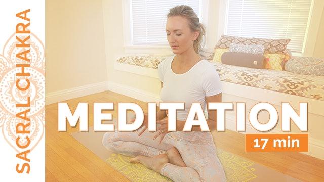 Chakra 2 - Meditation (17-Min)