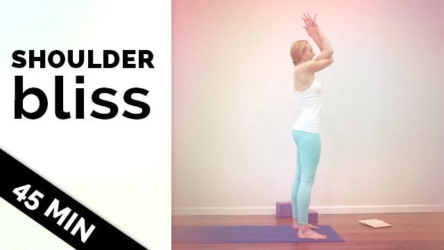 Shoulder Bliss - Hatha Yoga Slow Flow (45-Min)