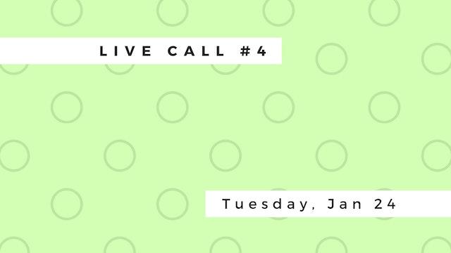 Live Call #4: B.1.1 | B.1.2 | B.1.3