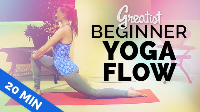 Beginner Yoga Flow for Greatist | Yoga for Total Beginners | 20-min