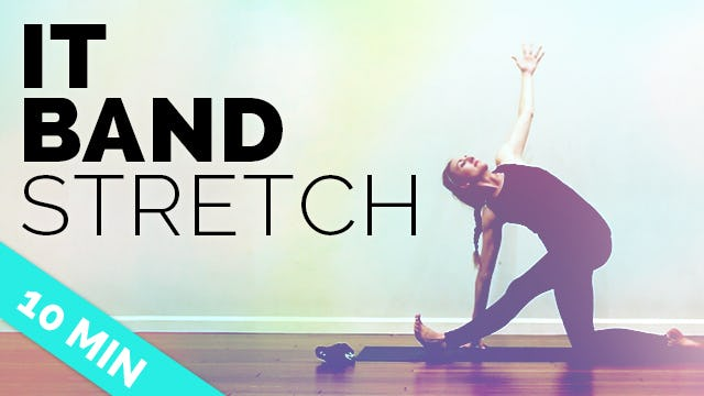 Hips, IT Band & Flow in 10-Minutes (Fast Hip & IT Band Stretches)