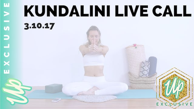 Uplifted Member-Only Kundalini Live Call