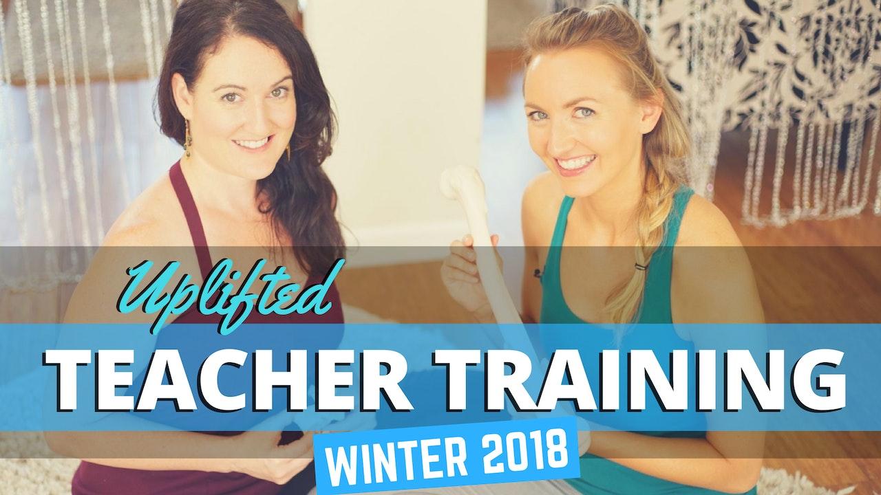 Yoga Teacher Training Material - Winter 2018
