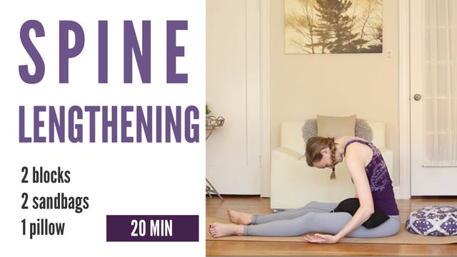Spine Lengthening - 20 min