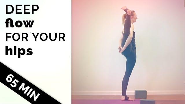 Advanced Hip Opening Vinyasa Yoga Bir...