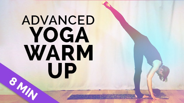 Sweaty Yoga: 8 Minutes of Pure Movement | *Get Warm Fast* with this Advanced Yoga Warm Up