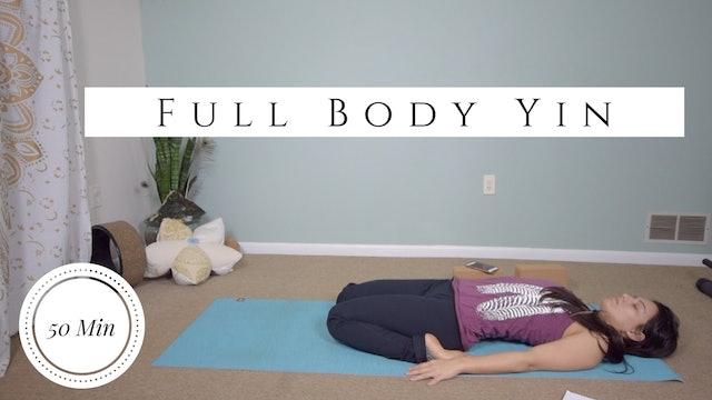 [NEW] Full Body Yin Yoga with Stephanie (55-min)