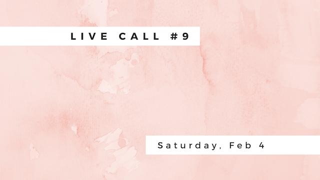 Live Call #9:  B.2.4 | B.2.5 | Pada I