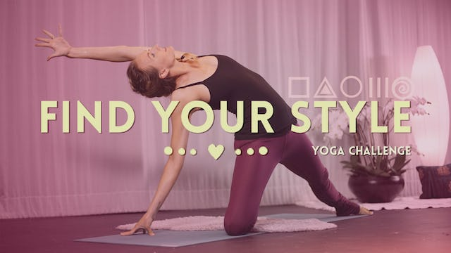 Find Your Style Yoga Challenge