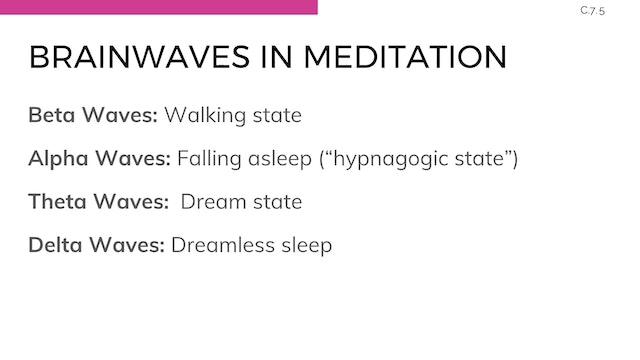 E.2.1 Meditation Techniques & Teaching