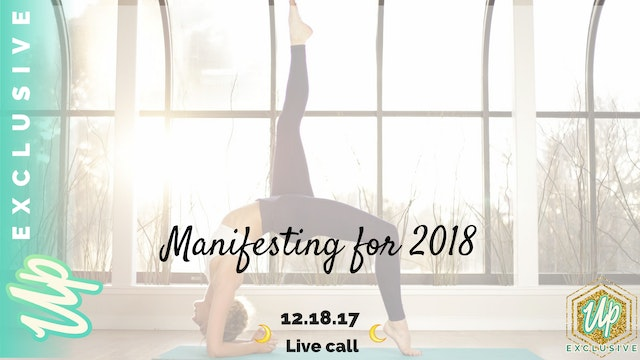 [Member Only] Live Call: Manifesting ...