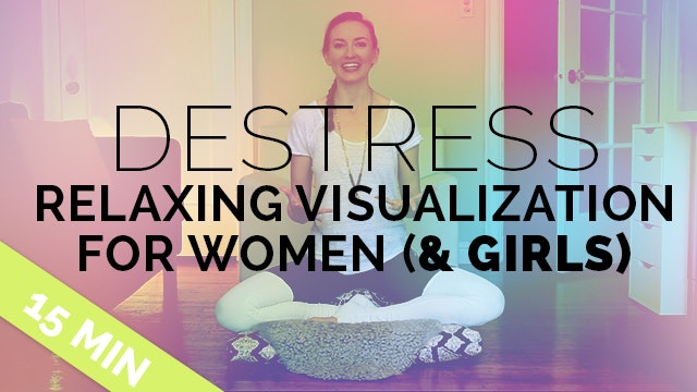 De-Stress: Relaxing Meditation for Busy Women | Meditation for Stress | Can Do Lying Down